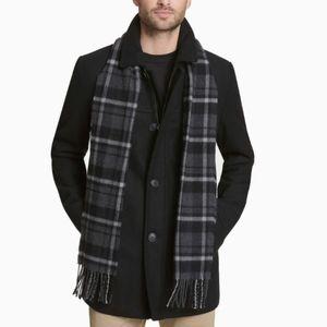 Mens Dockers Wool blend coat jacket